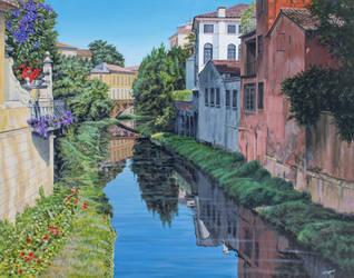 Padua Canal by FredaSurgenor