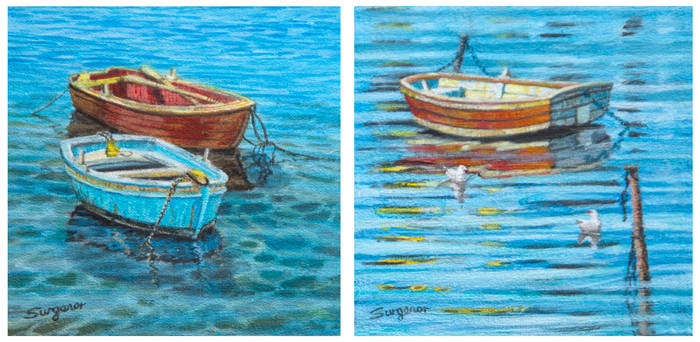 Two new boat Miniatures