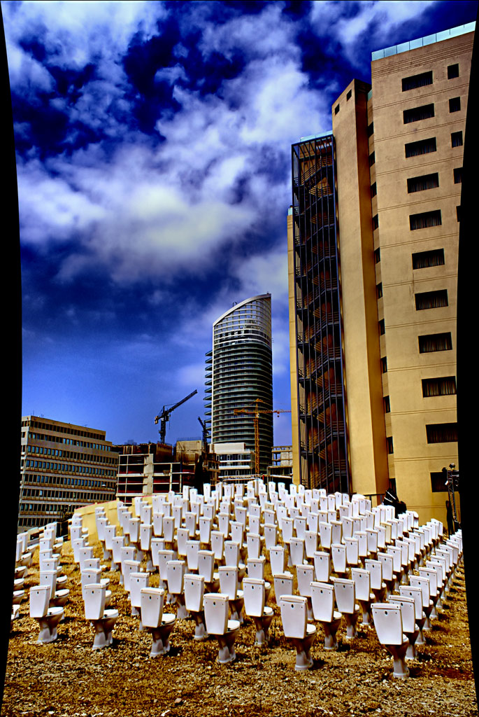 Beirut Public Installation 3 by gors