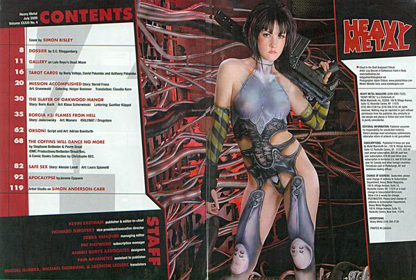 Heavy Metal Magazine by Doomsday-Dawn
