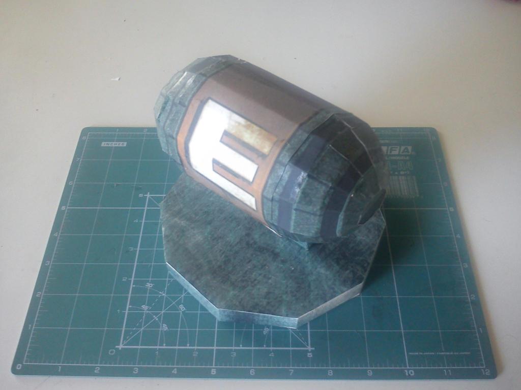 Metroid Energy Tank Papercraft by kymerazero