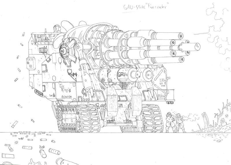GAU-55 AAC by PenUser