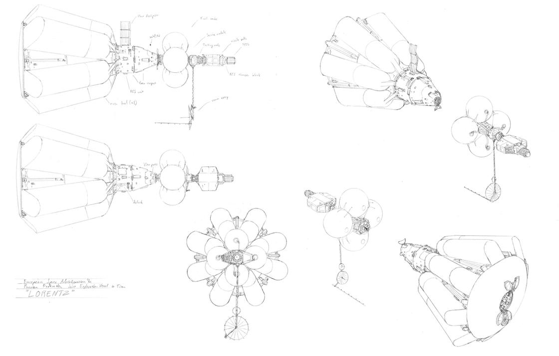 Lorentz and service module by PenUser