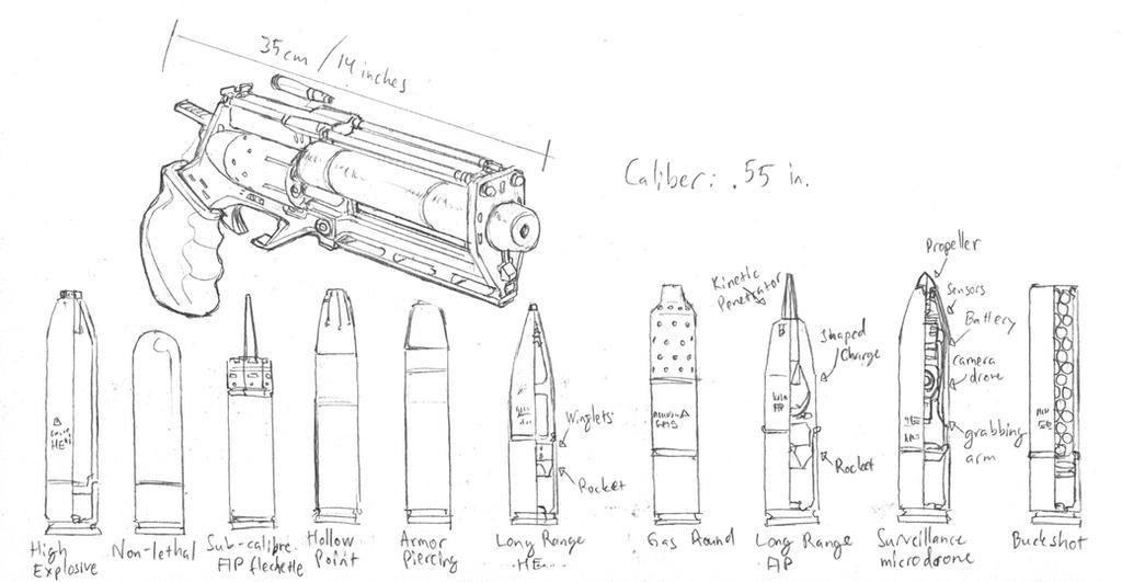 Ebris' revolver mk.I by PenUser