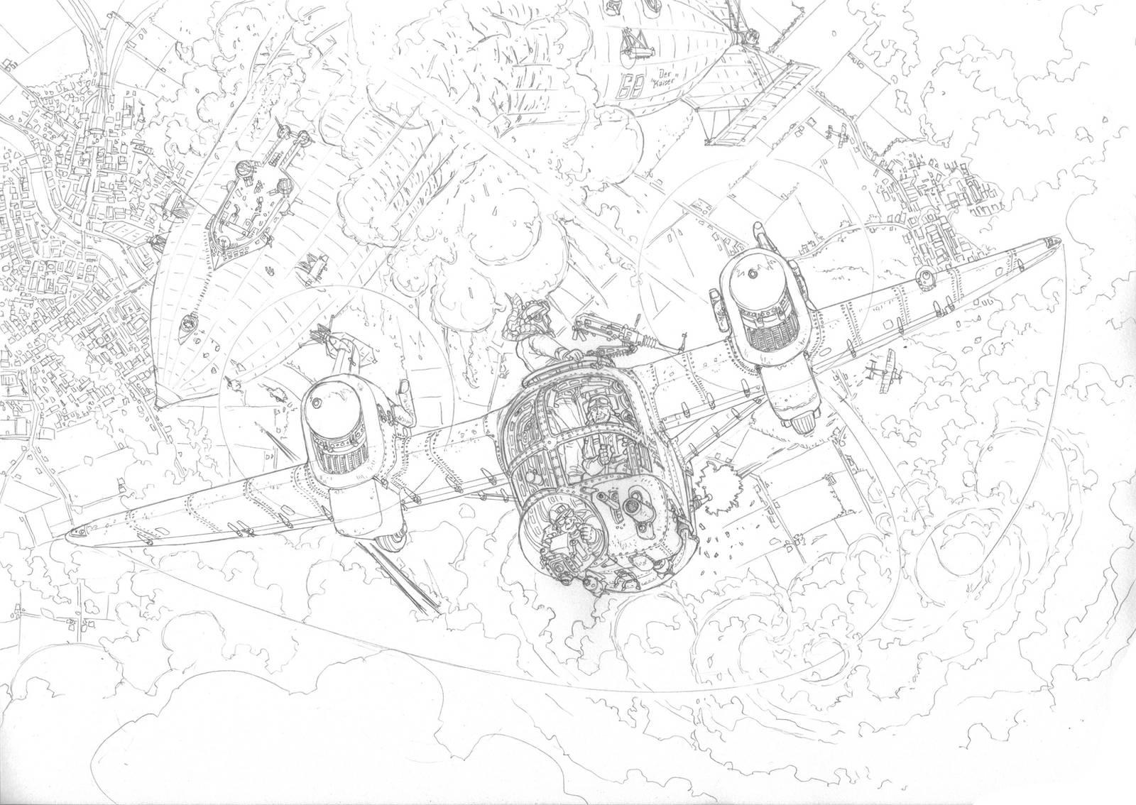 Zeppelin busters (WIP) by PenUser