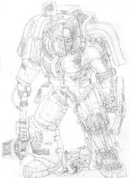Sketch- 40K Terminator Cross-section