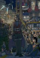 Commission: Bounty hunter arrives by PenUser