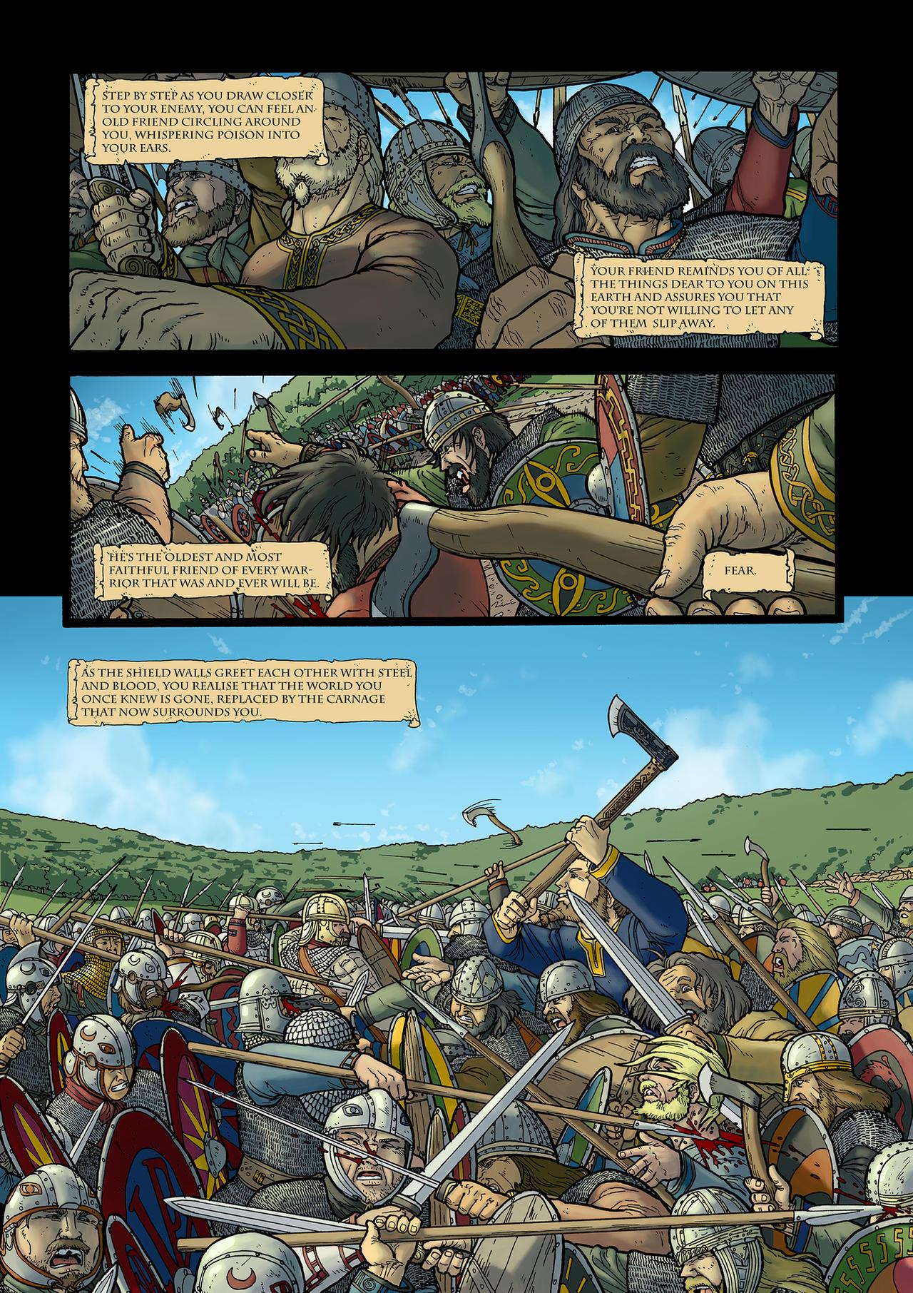 Foederati sample page 1 by PenUser