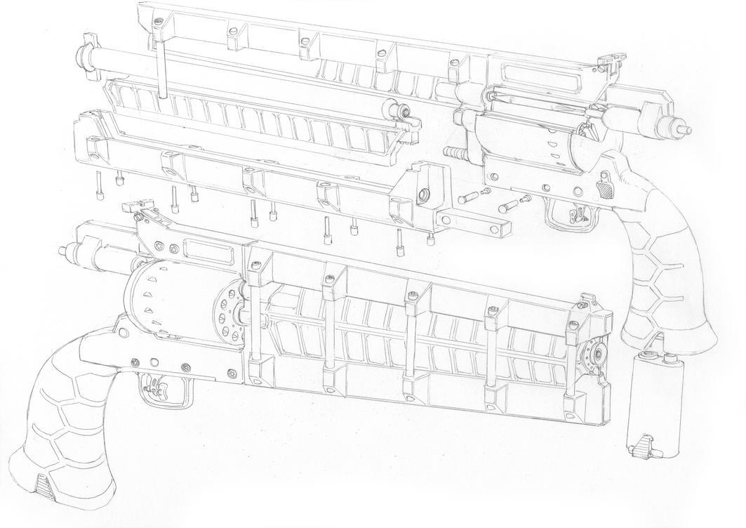 Colt sketch by PenUser