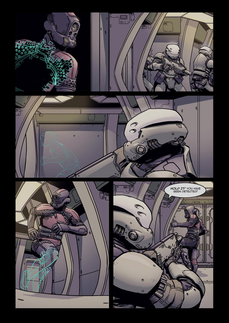 Requiem part 3- Sample page 01 by PenUser