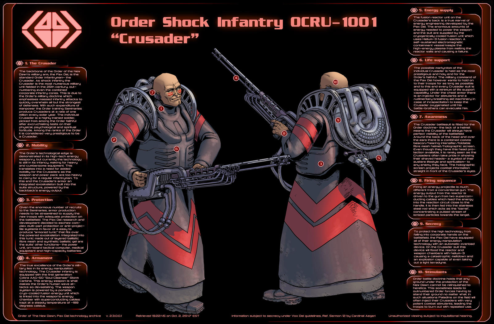Order Crusader Infographic