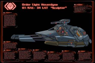 Order Light Hoverdyne Infographic by PenUser
