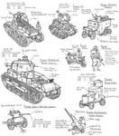 Frasian armoured vehicles