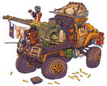 Junk Rats Gun-Wagon