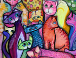 Colorful Cats 1