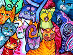 Colorful Cats 2