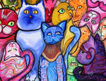 Colorful Cats 9