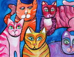 Colorful Cats 10