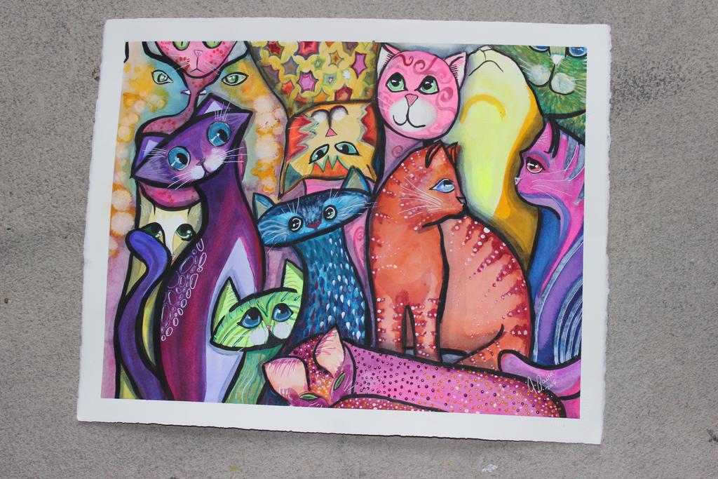 Untouched cat by jempavia