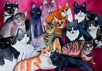 The Big Meowski's Cats