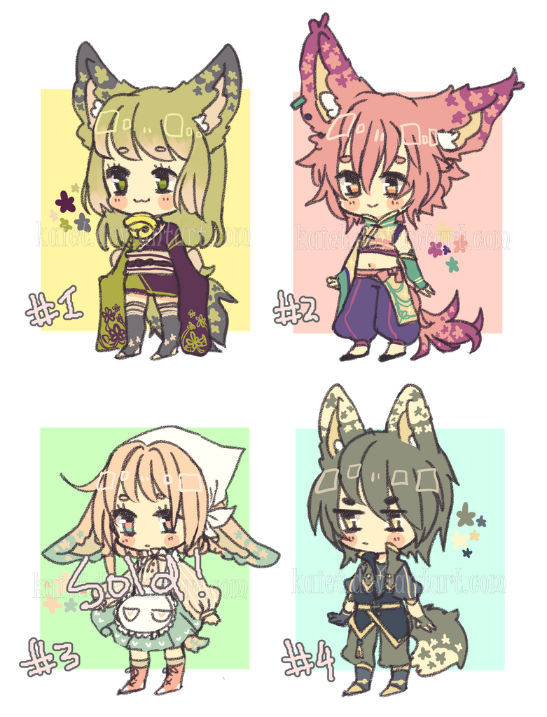 Hanakomi adopts 2 Auction CLOSED by Kaiet