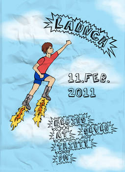 Launch Flyer