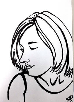 Sharpie Portrait Series