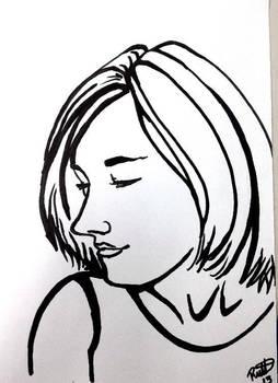 Sharpie Portrait Series
