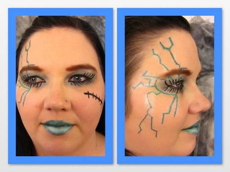 Ghouls Rule Frankie Makeup