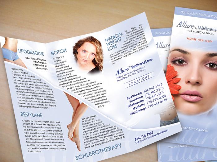 Allure Trifold Brochure