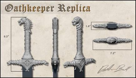Oathkeeper Replica Hilt