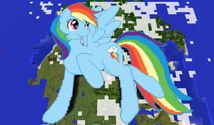 Rainbow Dash Minecraft