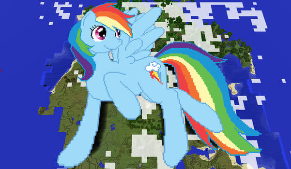 Rainbow Dash Minecraft
