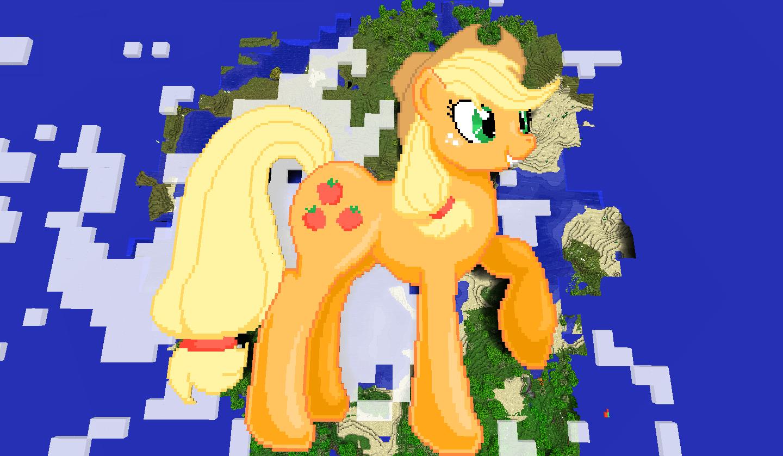 Applejack Minecraft By Theunknown644 On Deviantart
