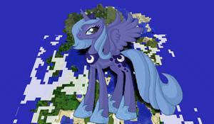 Princess Luna Minecraft