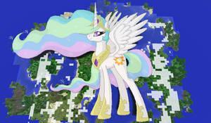 Princess Celestia Minecraft