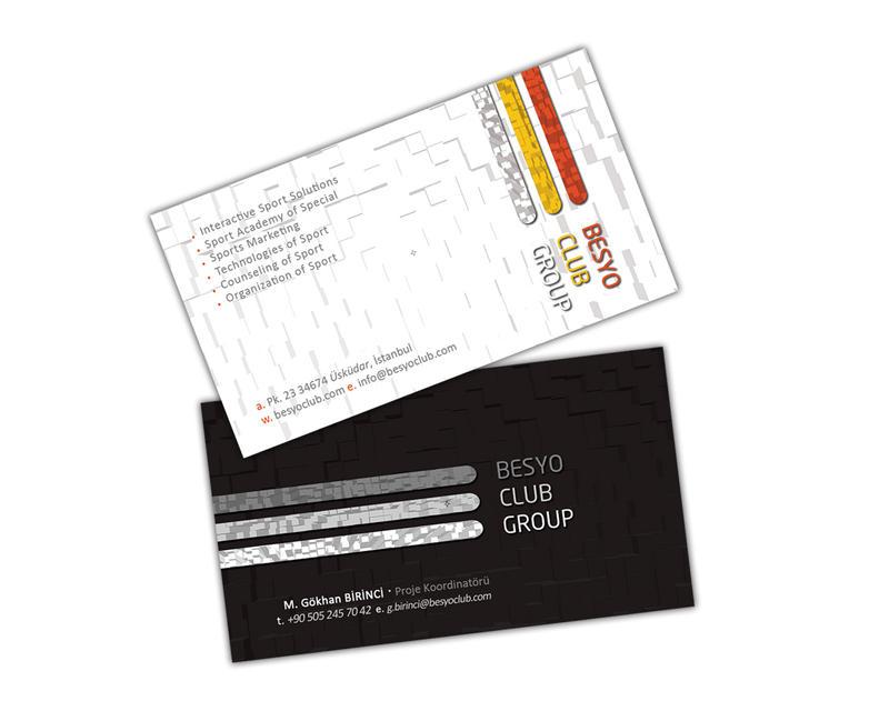 *Besyo Club Group Kartvizit Çalışması...