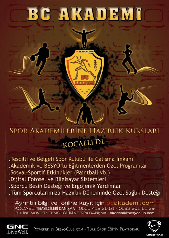 Besyo Club Akademi Afişi