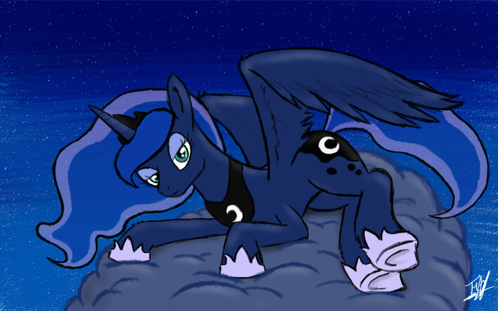 Princess Luna by ToMaz777