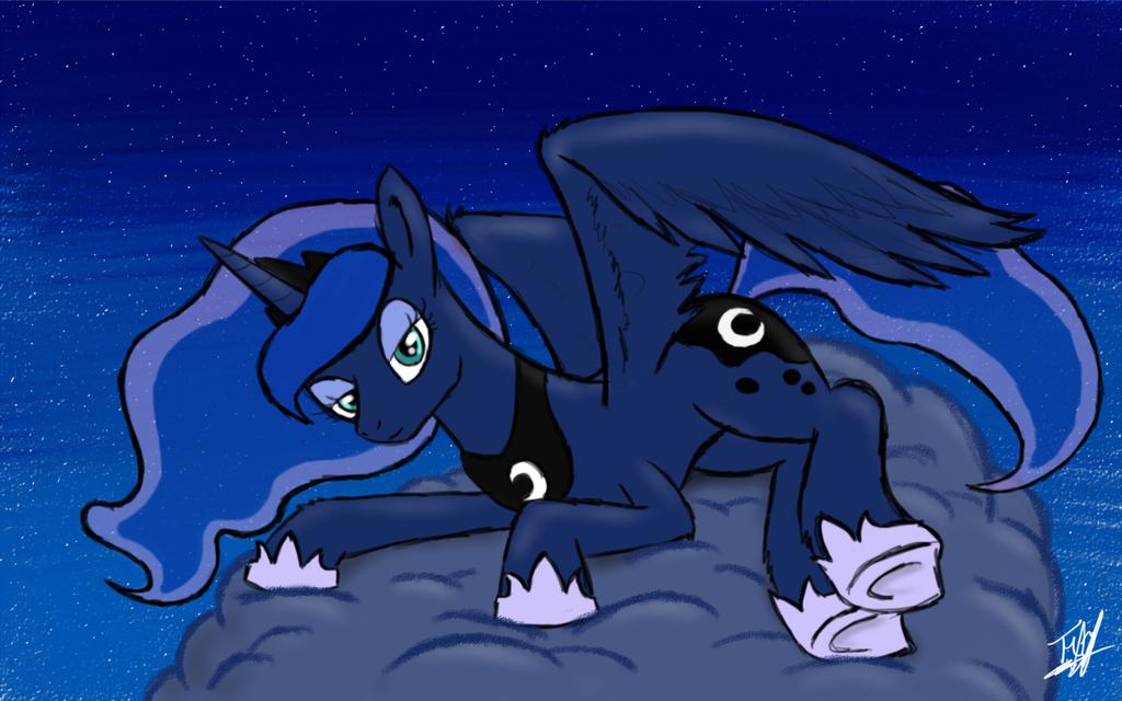 Princess Luna by ToMaz777