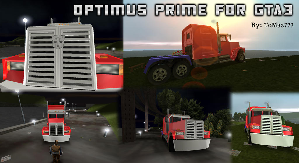 Optimus Prime for GTA 3 by ToMaz777