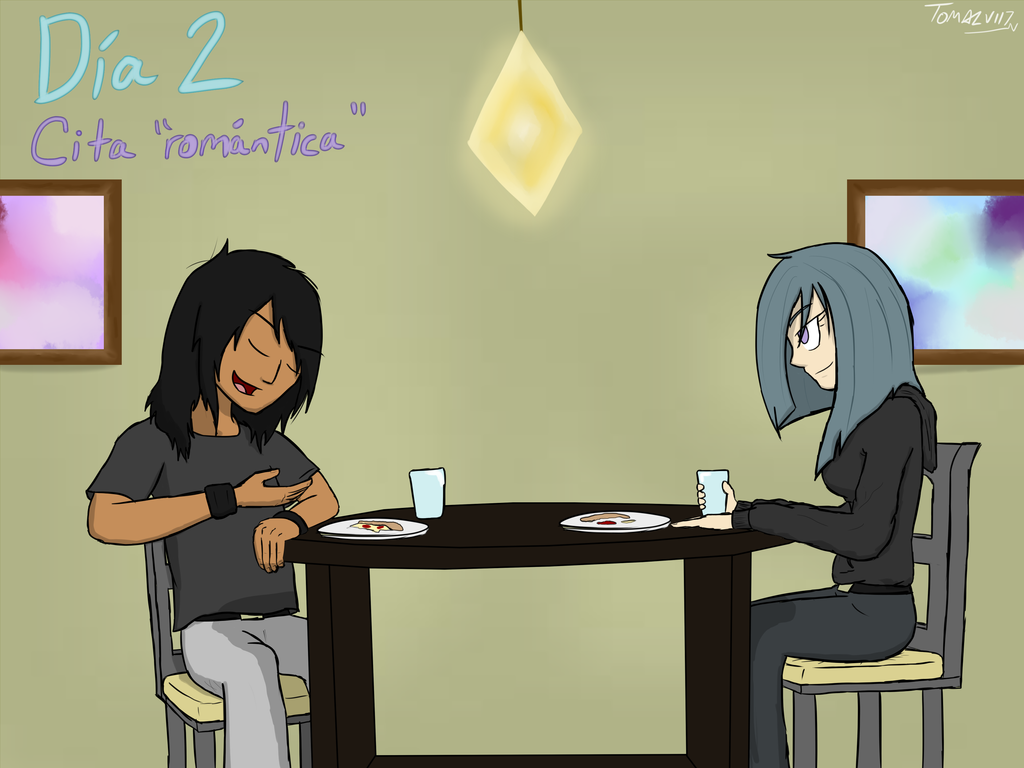 9 Day Challenge  - Day 2 Romantic Date by ToMaz777