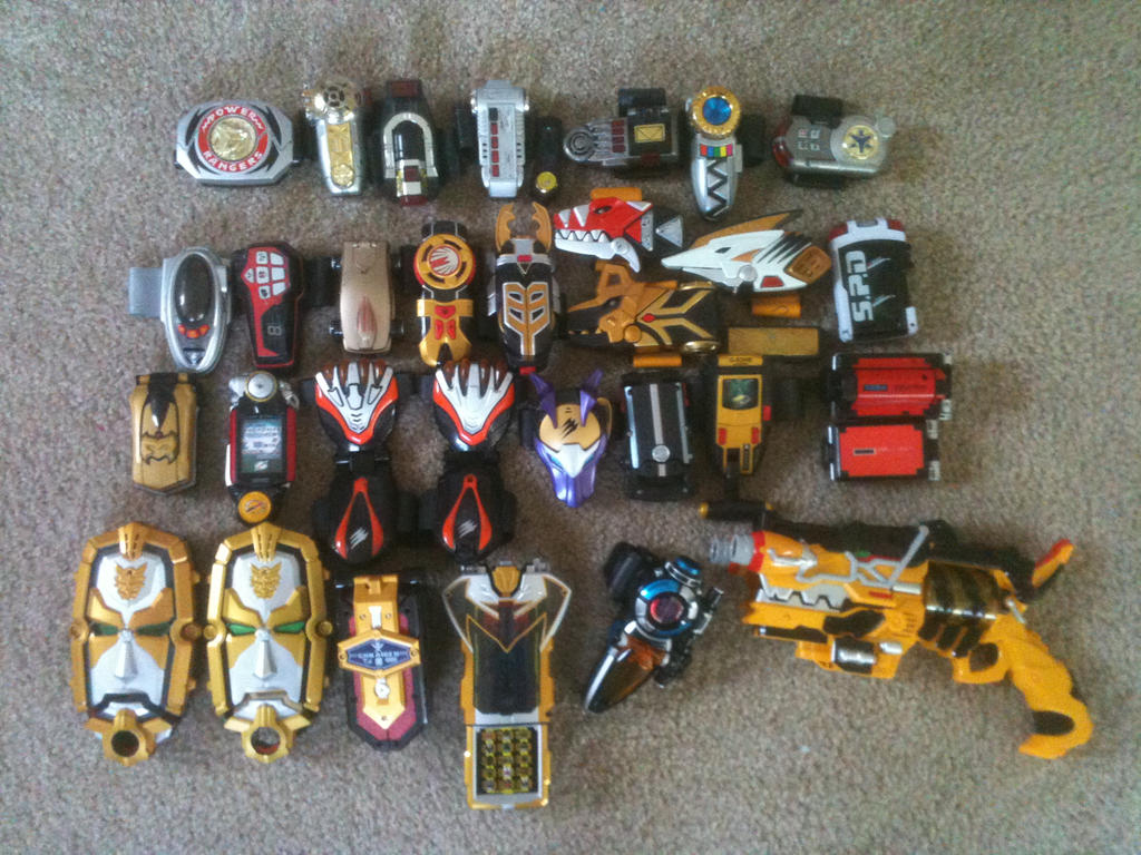 All Power Rangers Toys 69