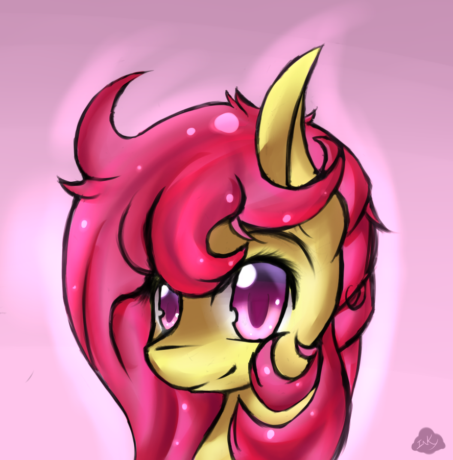 Beautiful Shy Feathers by Sarahostervig