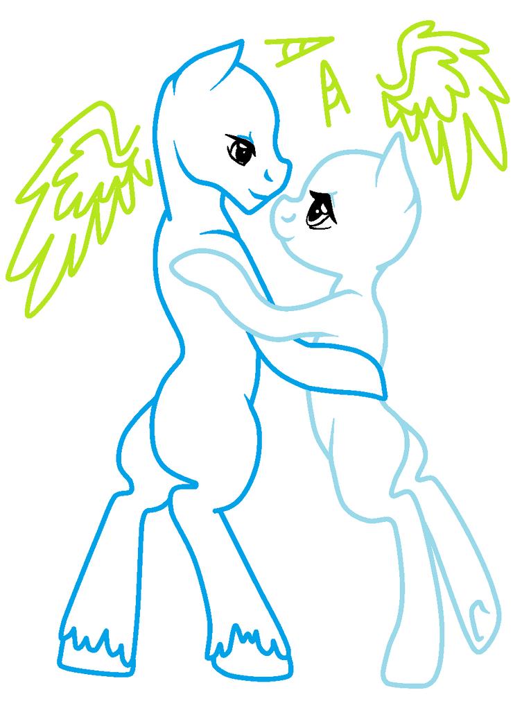 Рисуем на манекене пони в