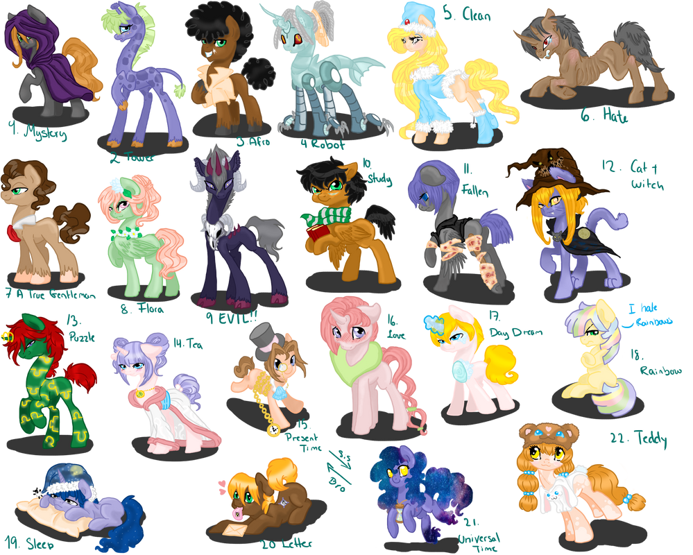 100 Theme Challange Adopts 1 by Sarahostervig