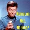 Romulan Ale, Anyone? by mccoylover77