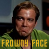 Kirk's Awesome Frowny Face by mccoylover77