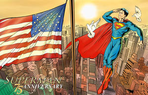 Superman, an american icon. by vitorart
