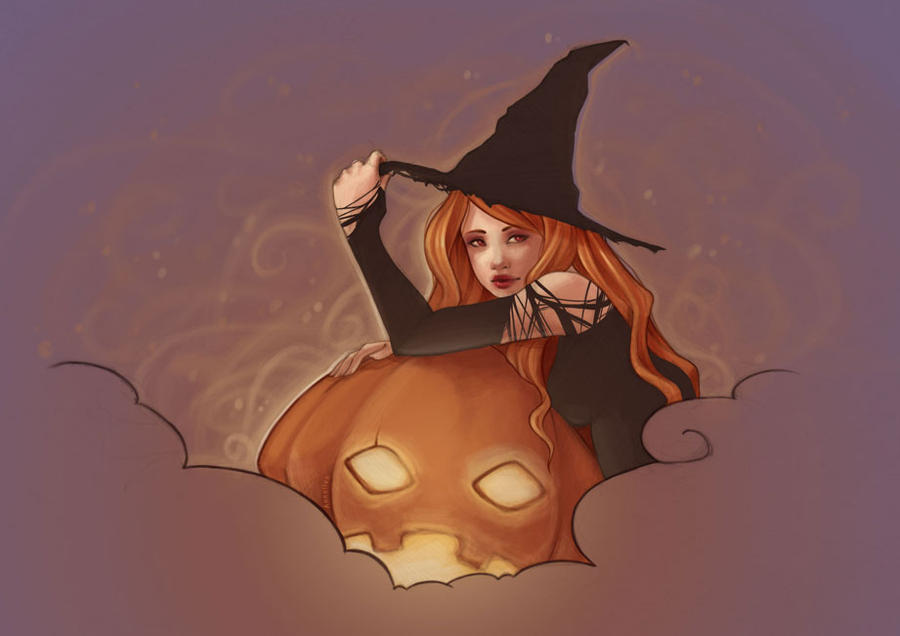 Happy Halloween by drawingum